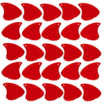 Shark Fin Plectrum Red