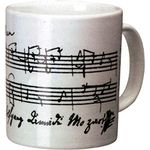 "Vienna World Coffee Cup ""Mozart"" White"