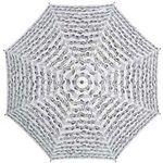 Vienna World Mini Umbrella White