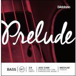 Daddario Prelude Double Bass 3/4 medium