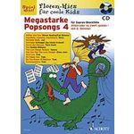 Schott Megastarke Popsongs 4 (Rec)