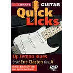 Music Sales Quick Licks Eric Clapton DVD
