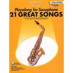 Music Sales Guest Spot 21 Songs Alto Sax
