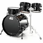 DW Lacquer Custom Rock Solid BK