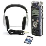 Olympus LS-5 Headphones Card  Bundle