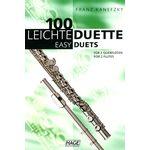 Hage Musikverlag 100 Leichte Duette Querflöte