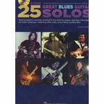 Hal Leonard 25 Great Blues Guitar Solos