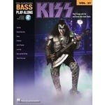Hal Leonard Kiss Bass Play Along Vol.27
