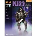 Hal Leonard Kiss Bass Play Along Vol.27