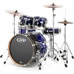 DW PDP M5 Fusion Blue Bundle