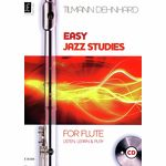 Universal Edition Easy Jazz Studies for Flute