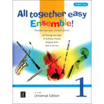 Universal Edition All Together - Easy Ensemble