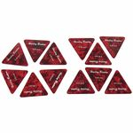 Harley Benton Big Triangle Pick Set 0,81