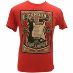 "Fender T-Shirt ""Built Inspire"" L"