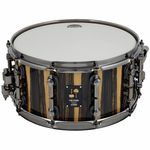 "Sonor 14""x07"" OOAK Snare White Ebony"