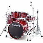 Sonor Ascent Coral Red Stage 3