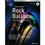 Schott Rock Ballads A-Sax