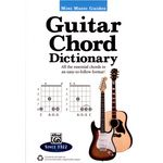 Alfred Music Publishing Guitar Chord Dictionary