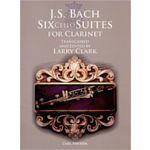 Carl Fischer Bach Six Cello Suites Clarinet