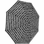 Vienna World Mini Umbrella Black Sheet
