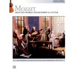 Alfred Music Publishing Mozart: Selected Guitar