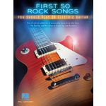 Hal Leonard First 50 Rock Songs Guitar
