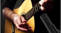 Akustikgitarre aufnehmen