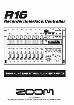 Bedienungsanleitung Audio-Interface