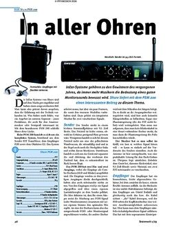 Test: Shure PSM 200 - In aller Ohren