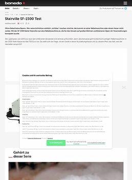 SF-1500/ SF-3000 Cable Remote