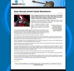 Amott Tyrant Bloodstorm