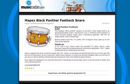 """12""""x07"""" Fastback Snare Drum"""