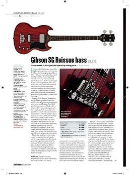 SG Standard Bass HC