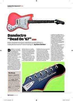 Dead On 67 Guitar BK