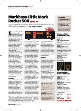 Little Mark Rocker 500