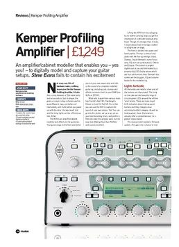 Profiling Amplifier Rack BK