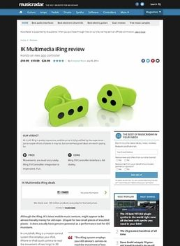 IK Multimedia iRing