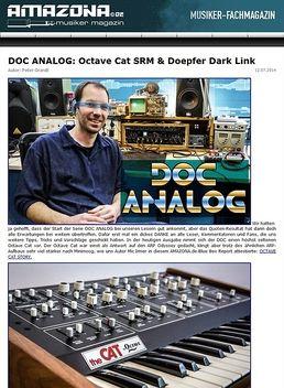 DOC ANALOG: Mission Octave Cat SRM & Doepfer Dark Link