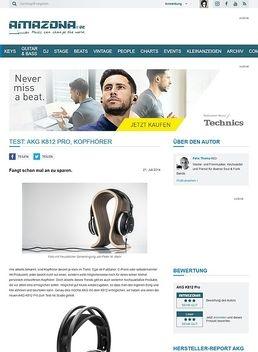 Test: AKG K812 Pro, Kopfhörer