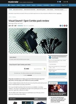 Visual Sound 1 Spot Combo pack