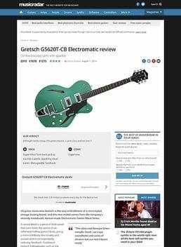 G5620T-CB Electromatic BLK