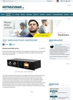 Test: Warm Audio WA76, Kompressor