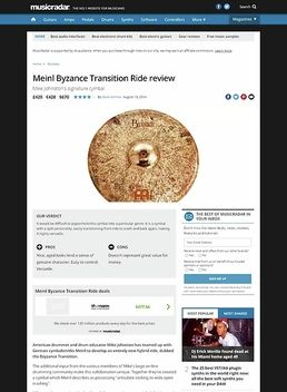 Meinl Byzance Transition Ride