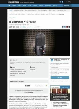sE Electronics X1D