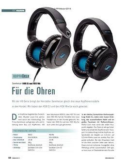 Sennheiser HD8 DJ und HD6 Mix