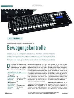 DMX Move Control 512