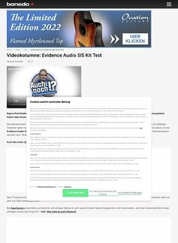 Videokolumne: Evidence Audio SIS Kit
