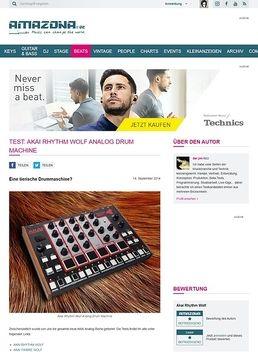 Test: Akai Rhythm Wolf, Analog Drum Machine