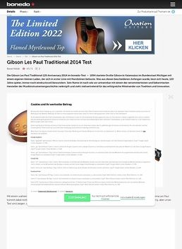 Gibson Les Paul Traditional 2014