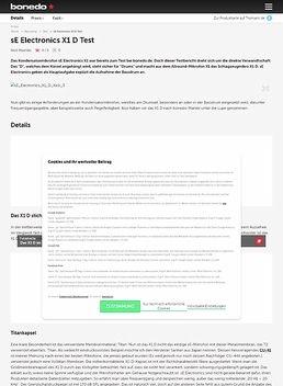 sE Electronics X1 D